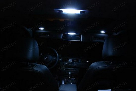 BMW - E92 - 335i - LED - interior - lights - 1